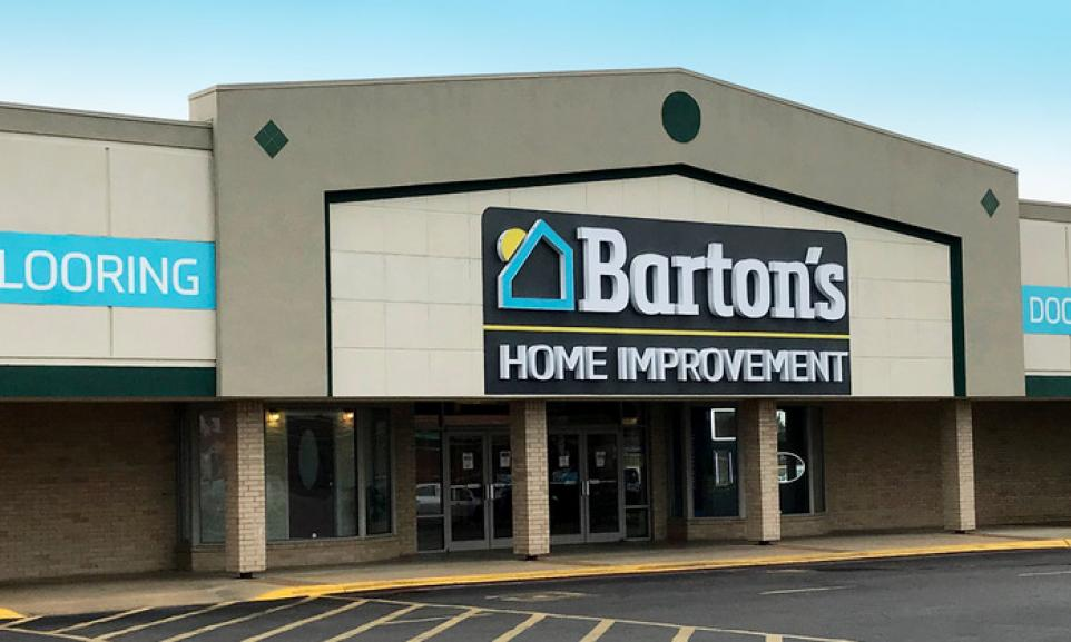 Barton's Home Improvement Store Front